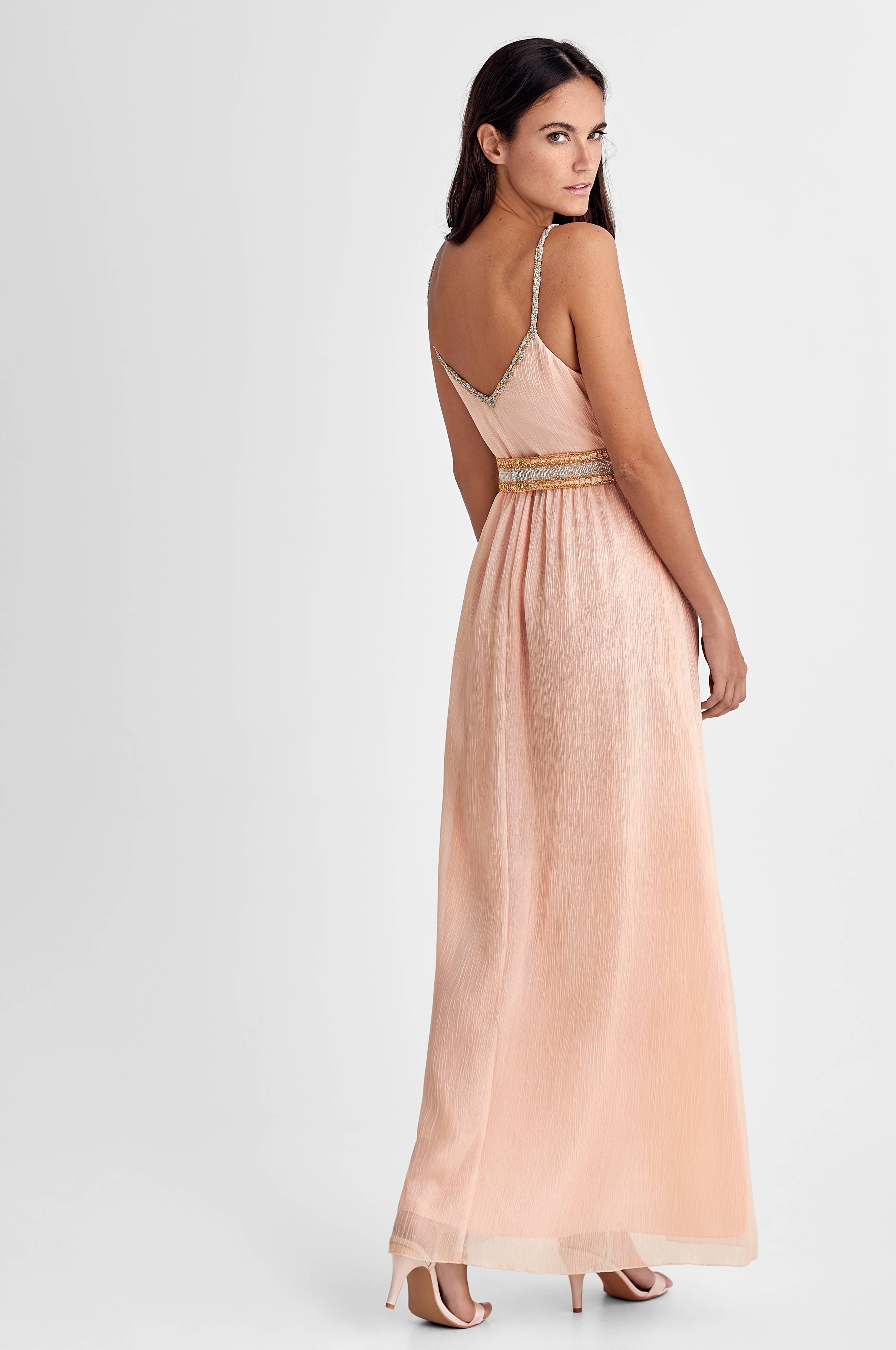 Valerie Maxiklänning Jess Long Dress Rosa Dam Ellos.se