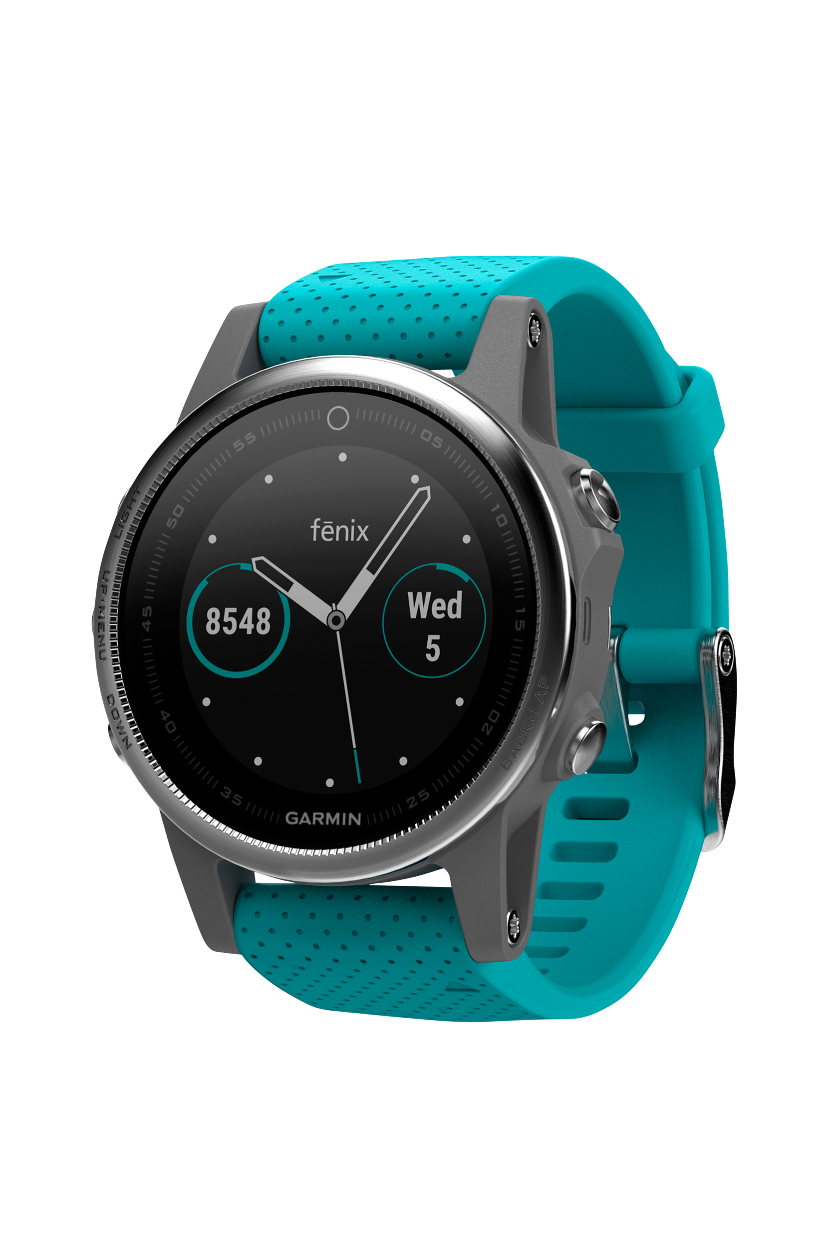 Fenix 5s Silver/Turquoise