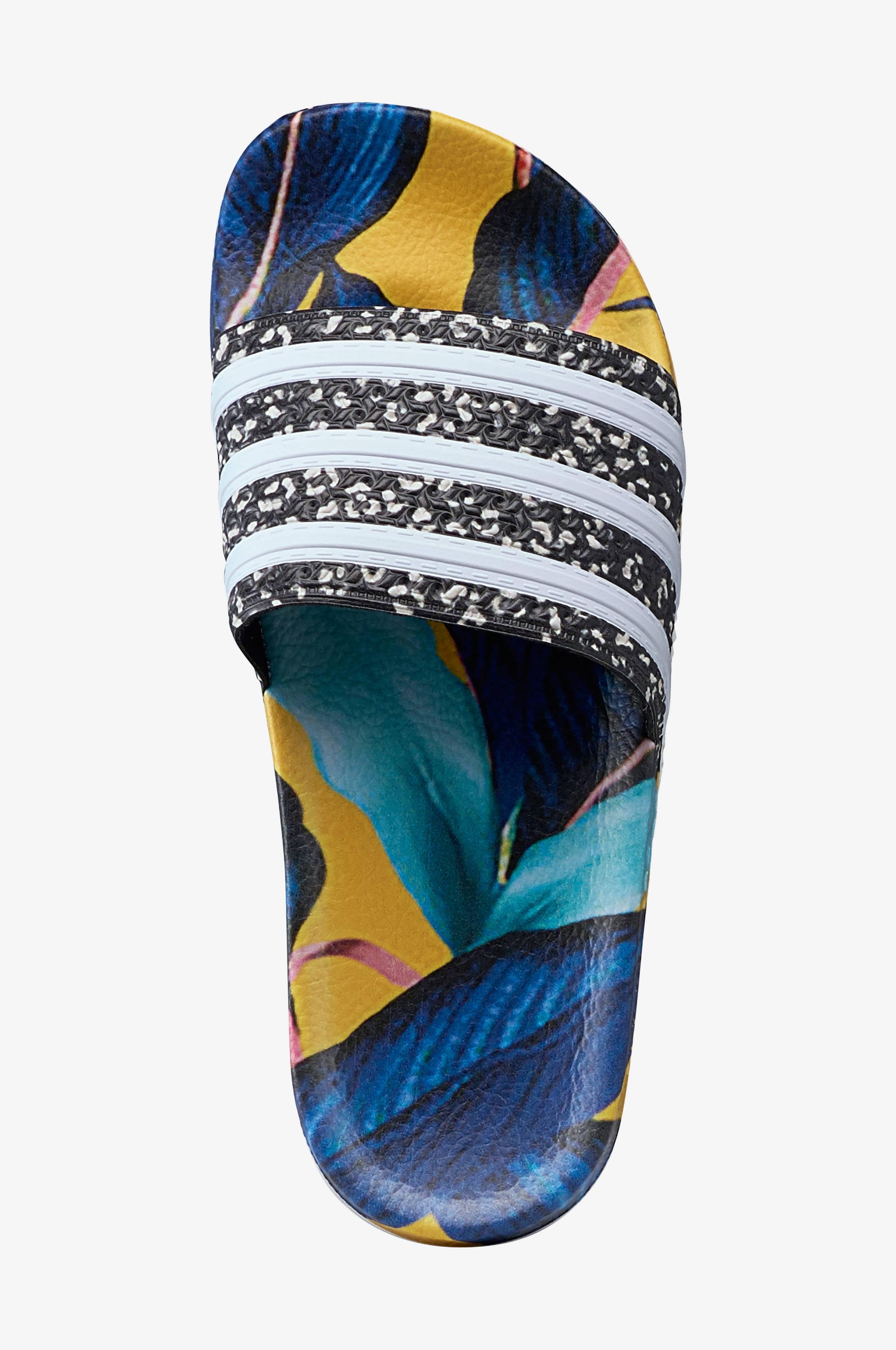 adidas Originals Badesandal Adilette Slides Blå Dame
