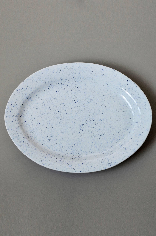 PURE Stain, soikea lautanen 37 cm
