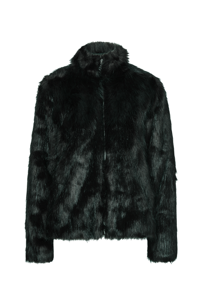 Saint Tropez Kunstpels Long Hair Faux Fur Jacket