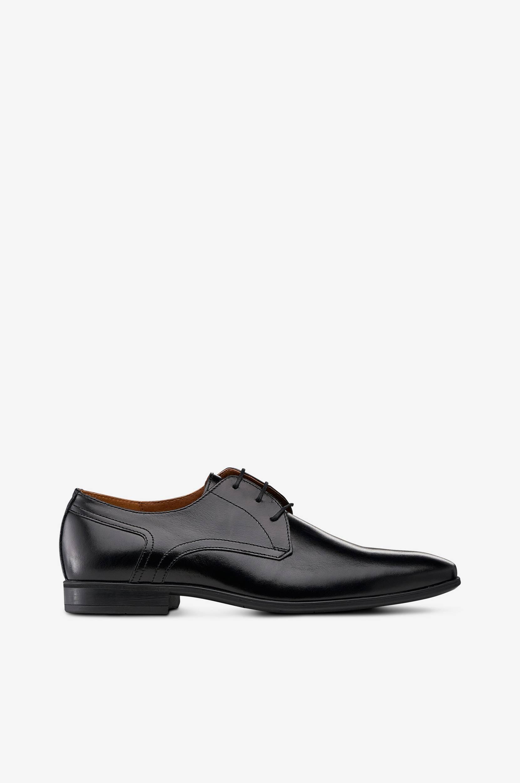 Derby Vintage Dress 7408 -kengät, matalakantaiset, nahkaa