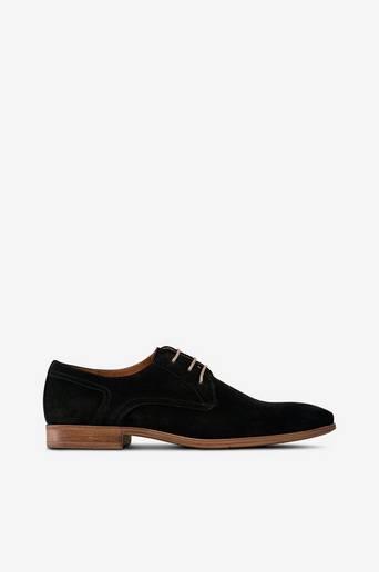 Derby Vintage Dress 7408 -kengät, matalakantaiset, mokkaa