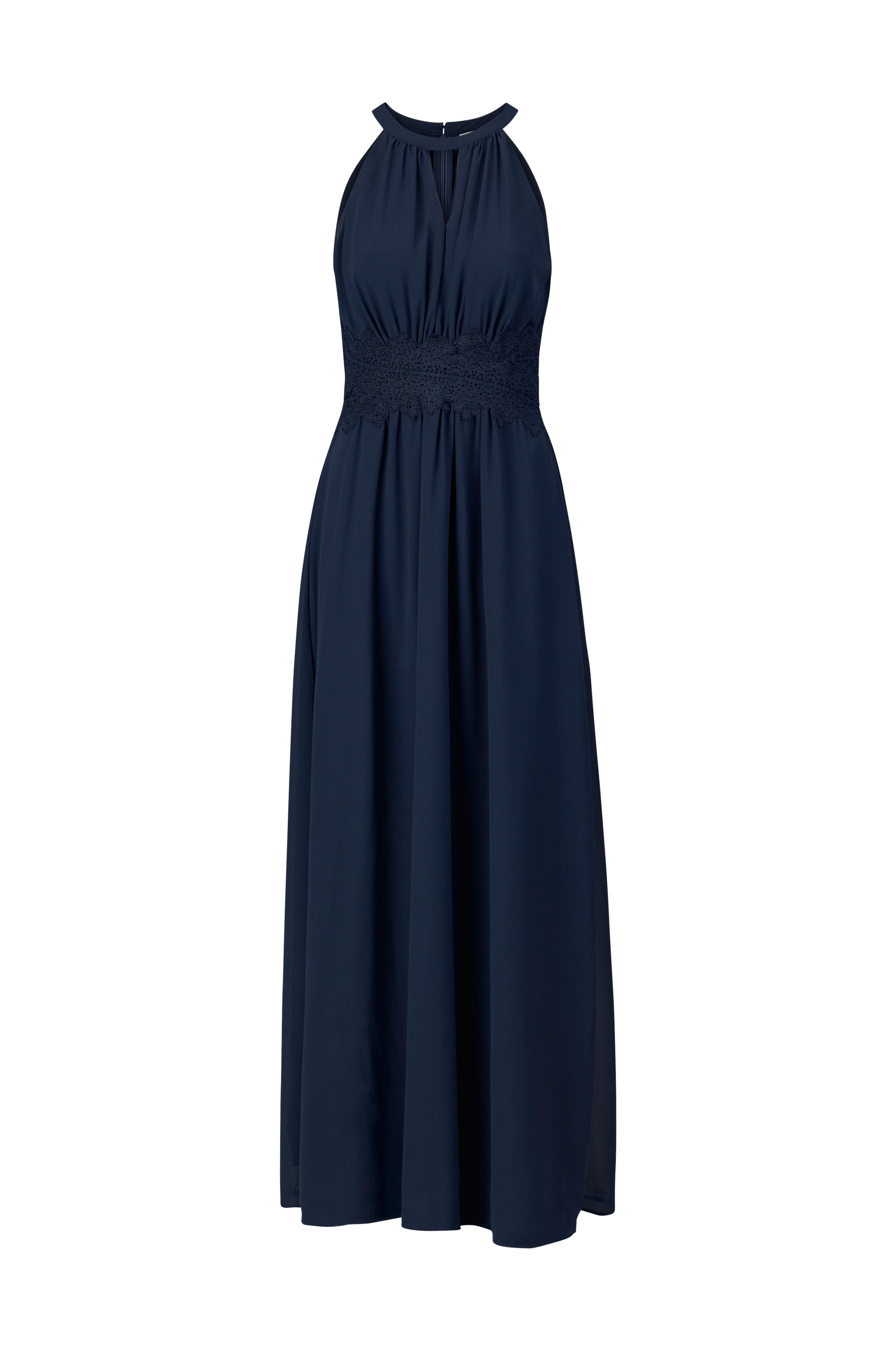 Vila viMilina Halterneck Maxi Dress -maksimekko - Sininen - Naiset -  Ellos.fi c6b583c13f
