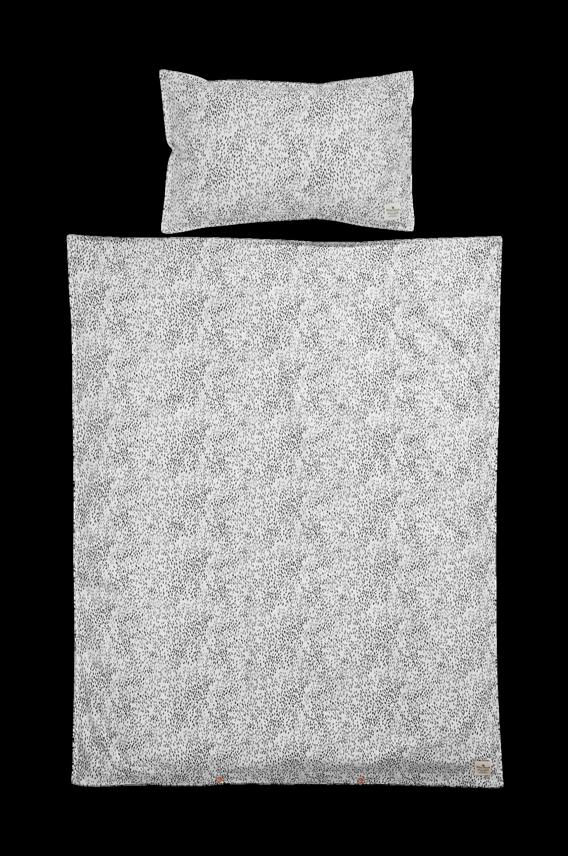 Dots of Fauna -pussilakanasetti pinnasänkyyn