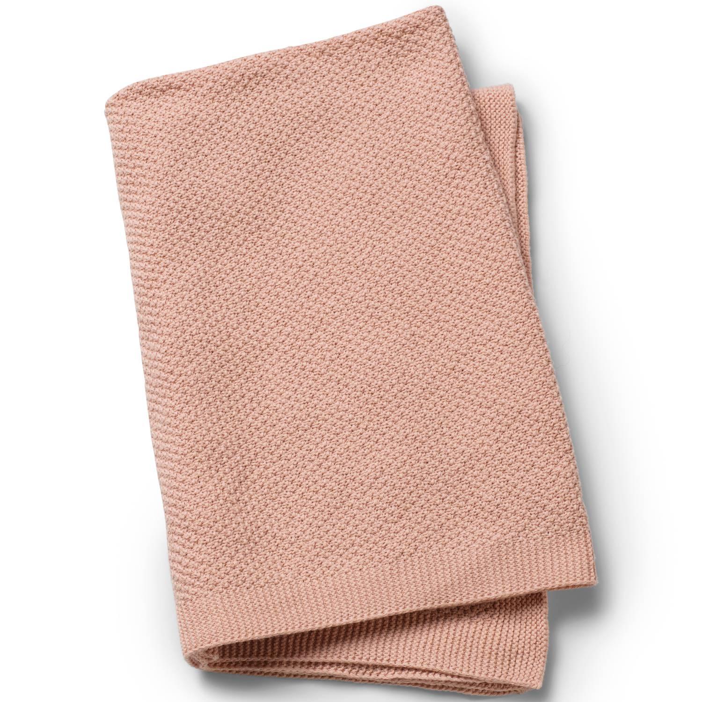 Vohvelipintainen torkkupeitto Powder Pink