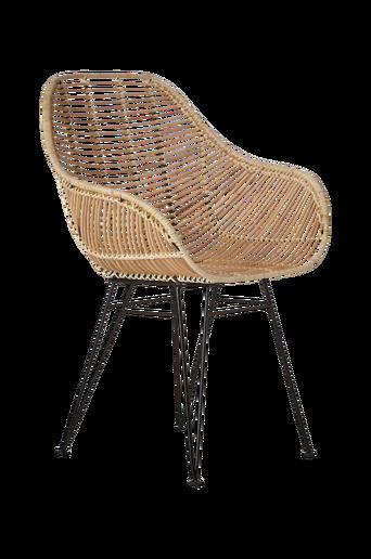 Aruba-tuolit, jossa käsinojat, 2/pakk.