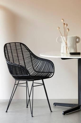 Aruba tuolit, jossa käsinojat, 2/pakk.