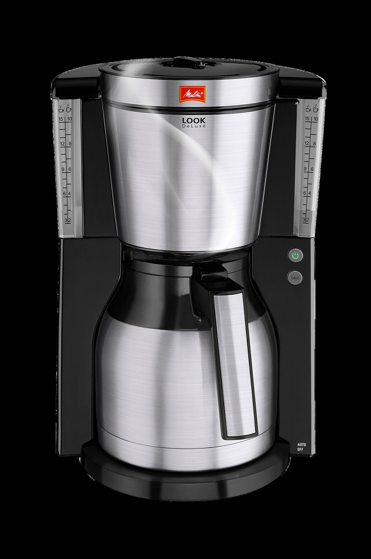 Look 4.0 Therm De Luxe Steel -kahvinkeitin