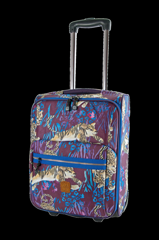 Wild Animals Lila -matkalaukku