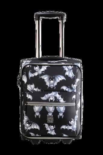 Lepakko-matkalaukku, musta