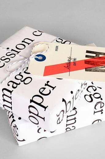 Le Papier D emballage -lahjapaperi