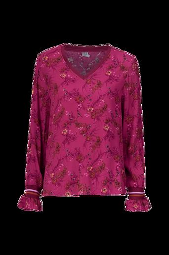 Floral Leopard Print paita
