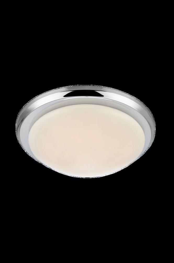 Plafond Rotor LED 35cm Krom/Vit
