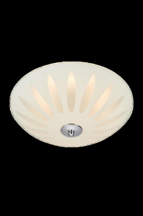 Plafond Petal LED 43cm Vit/Krom