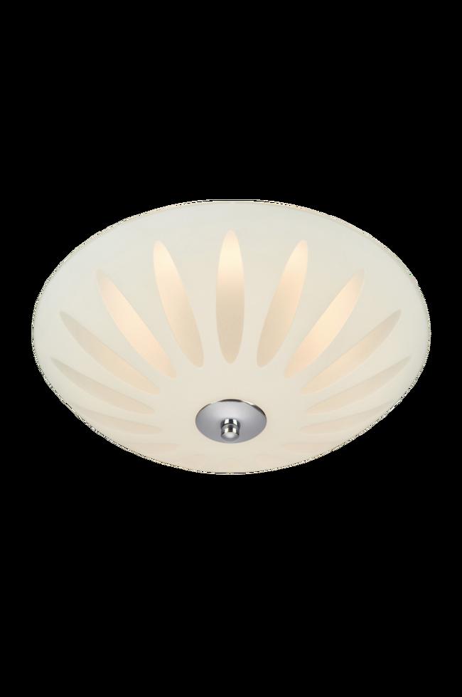 Bilde av Plafond Petal LED 43cm Hvit/Krom