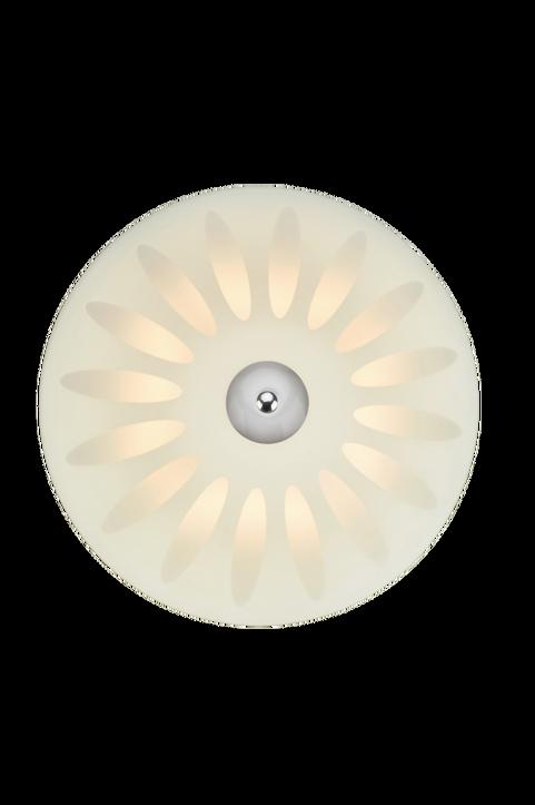 Plafond Petal LED 35cm Vit/Krom