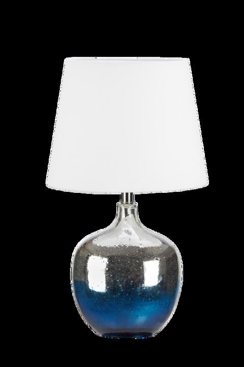 Bordslampa Ocean Blå/Krom/Vit