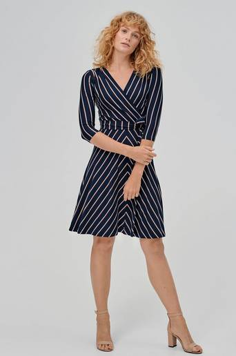Celia Stripe Dress -mekko
