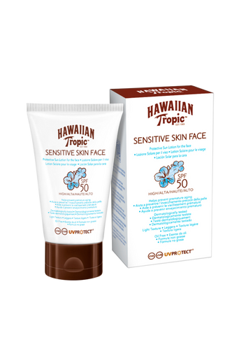 Hawaiian Sensitive Face Protective Lotion SPF 50. 60 ml