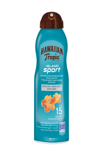Hawaiian Island Sport SPF 15. 220 ml