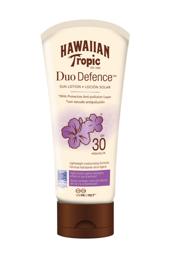 Hawaiian DuoDefence Sun Lotion SPF 30. 180 ml