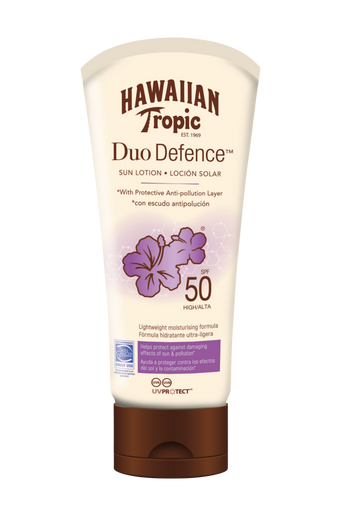 Hawaiian DuoDefence Sun Lotion SPF 50. 180 ml