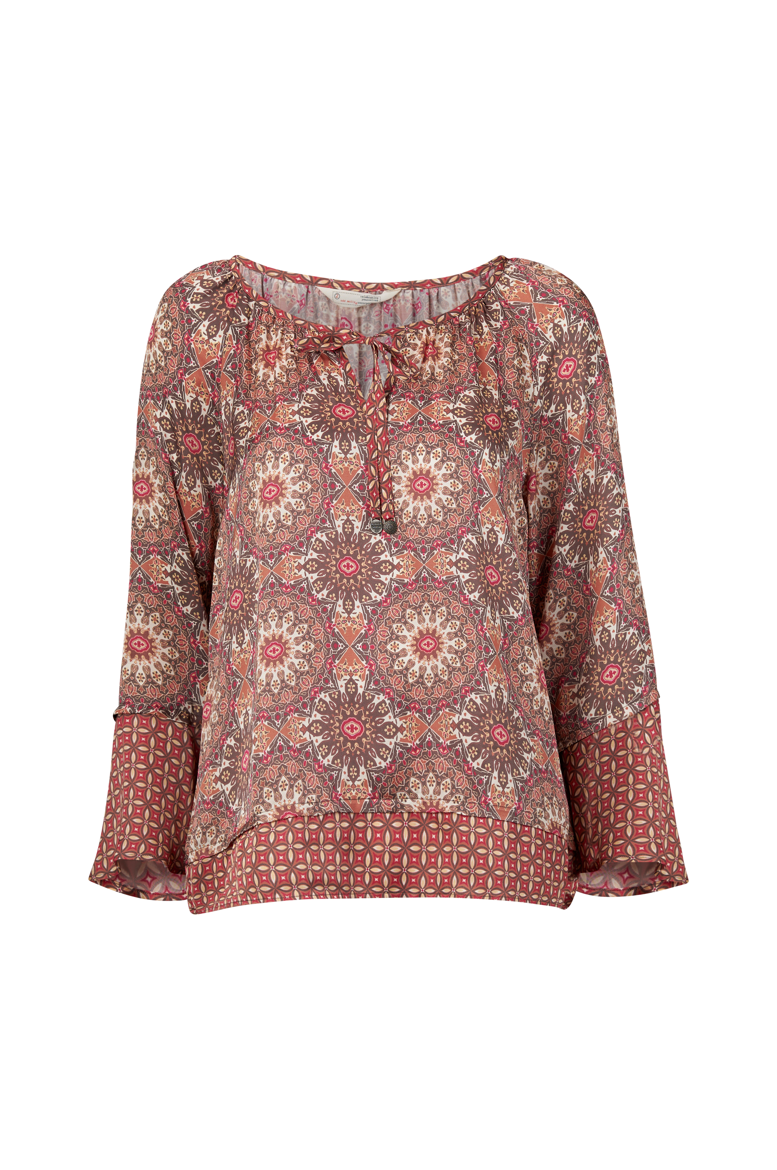 2392f06e Odd Molly Bluse Honey-Coated L/S Blouse - Rosa - Dame - Ellos.dk