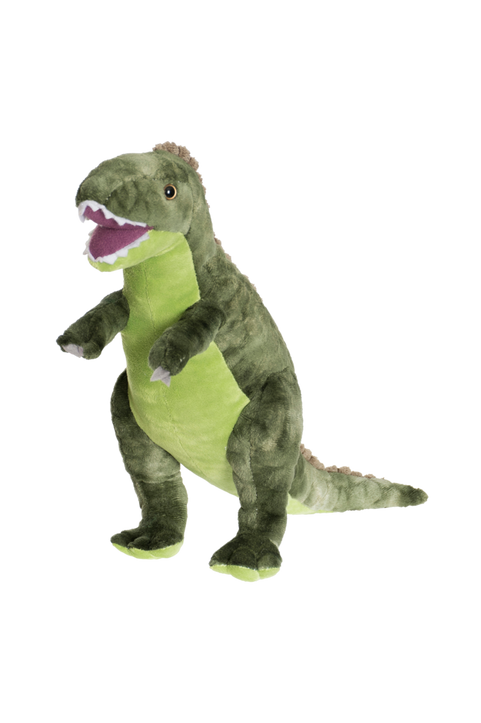 Gosedjur Dino T-Rex Stor Grön