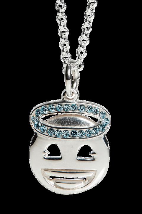Halsband Silver Emoji Halo