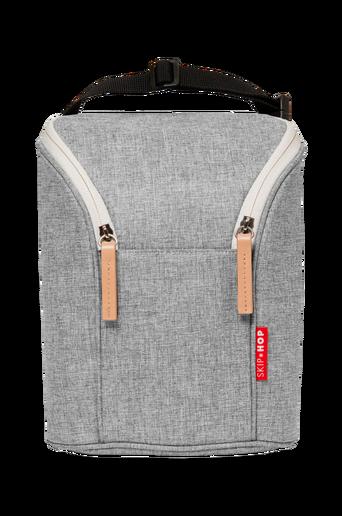 Dubbel Grey Melange -pullolaukku