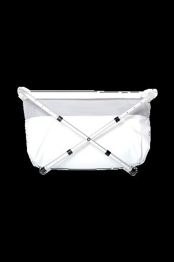 Flexi-kylpyamme, 80-100 cm, hopeanvärinen