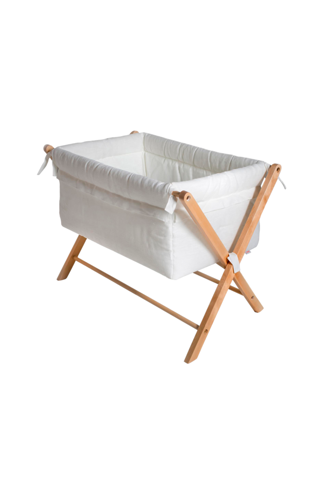 Minisäng X-Crib Offwhite