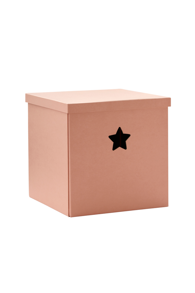 Förvaringsbox Star Rosa