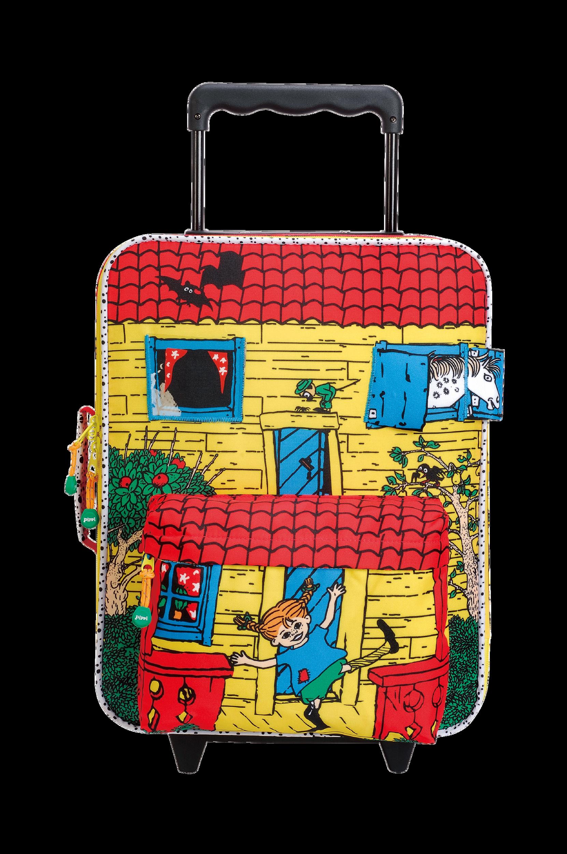 Pepin Huvikumpu -matkalaukku, keltainen