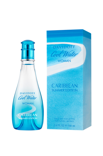 Cool Water Women Carrabean Summer Edt 100 ml