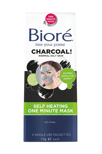 Self Heating One Minute Mask (4 packettes)