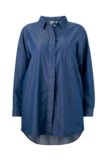 JrAllegra LS Long Loose Shirt -farkkupaita