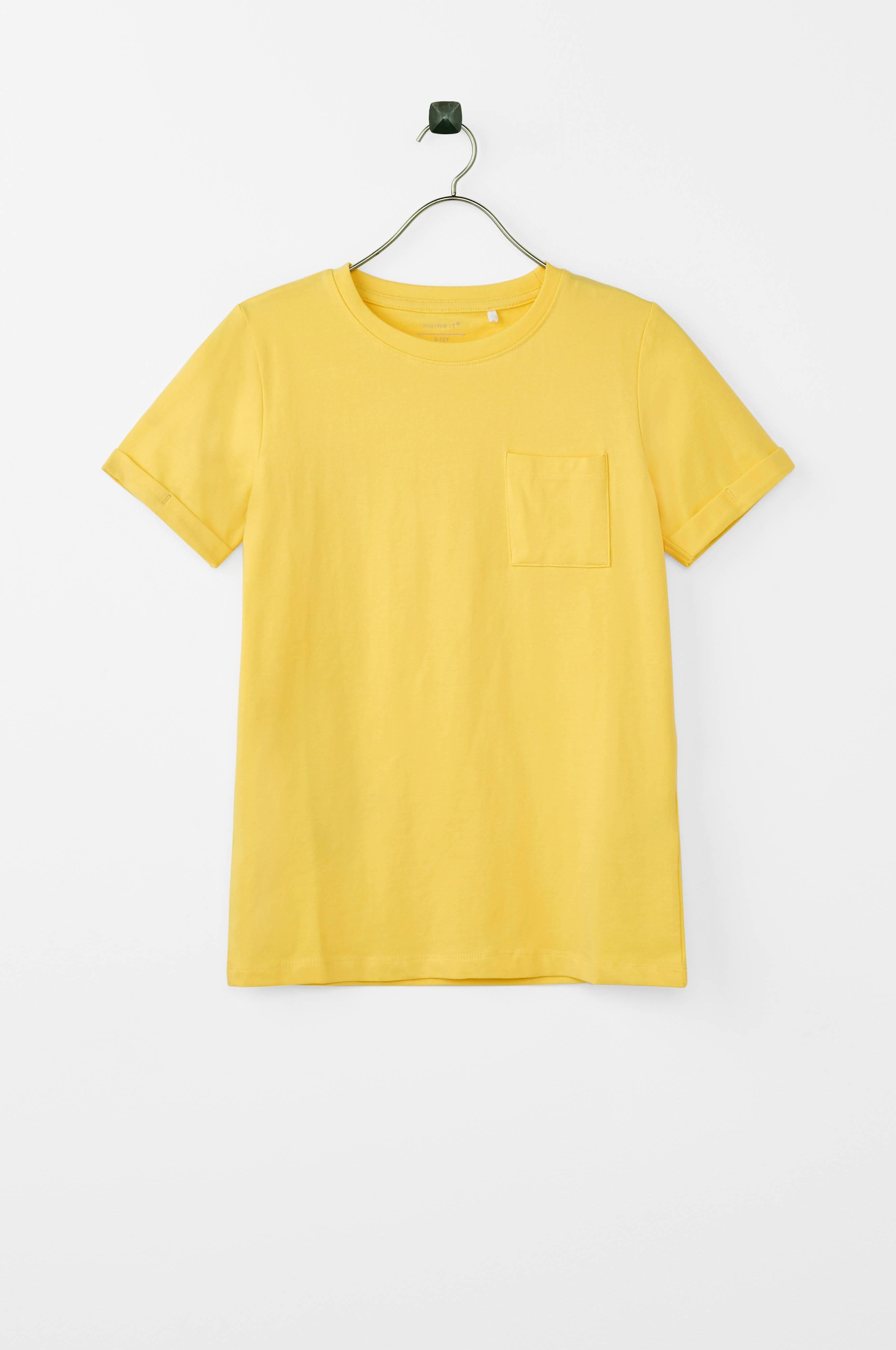 53161e9a Name it kids T-shirt nkmVester SS Top - Gul - Børn - Ellos.dk