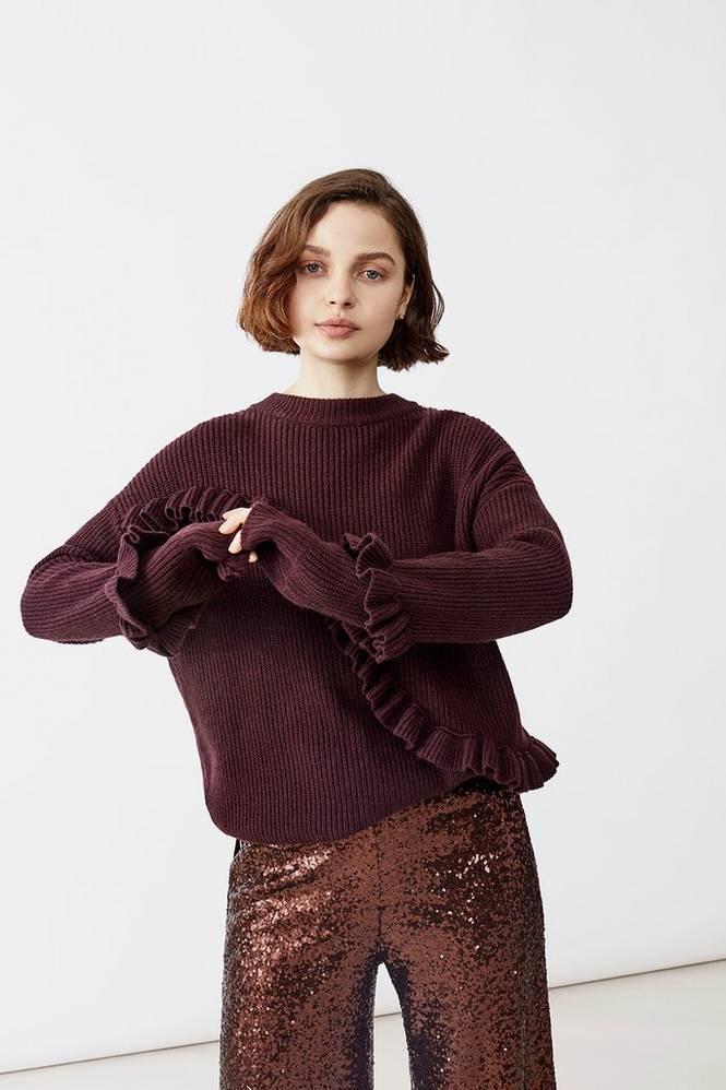 Twist & Tango Trøje Sonja Frill Sweater
