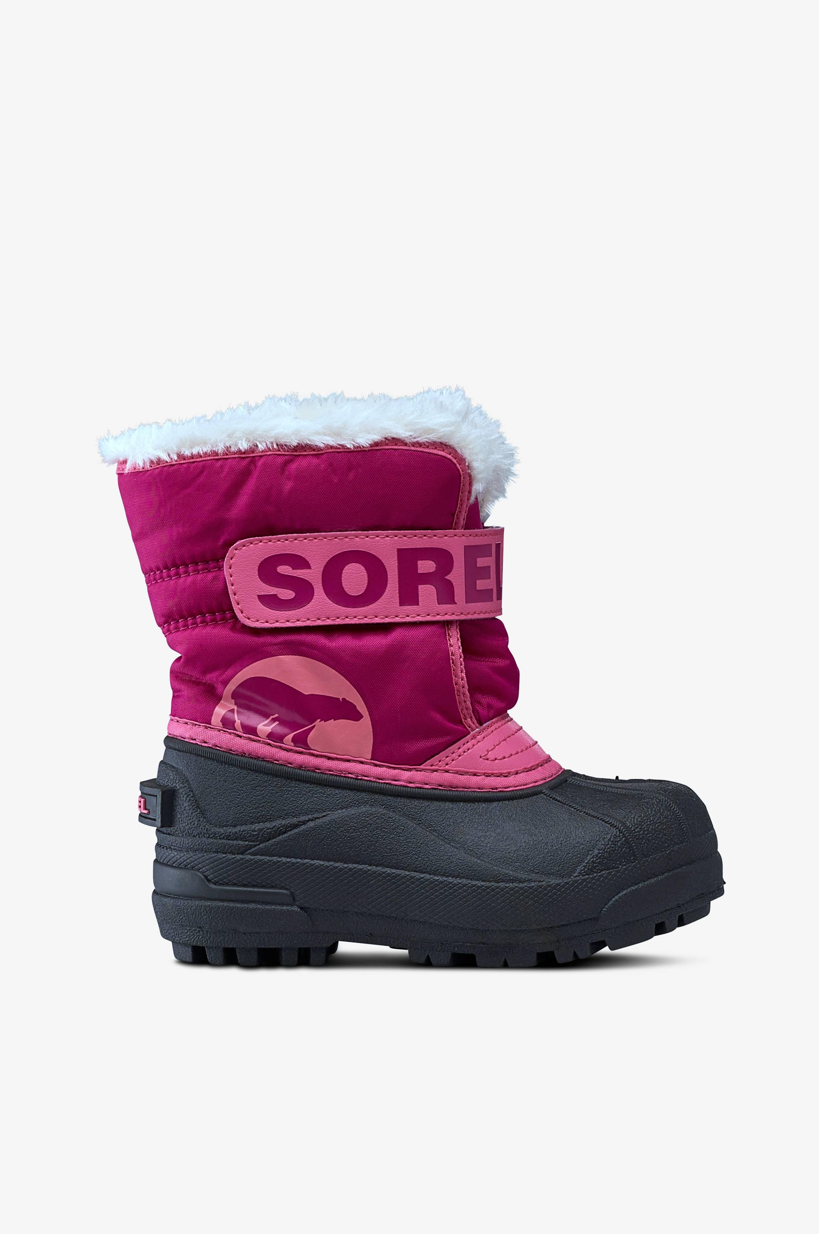 Sorel Snow Commander talvikengät - Roosa - Lapset - Ellos.fi ab77d8d1e7