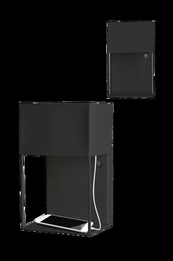 Box seinävalaisin, USB