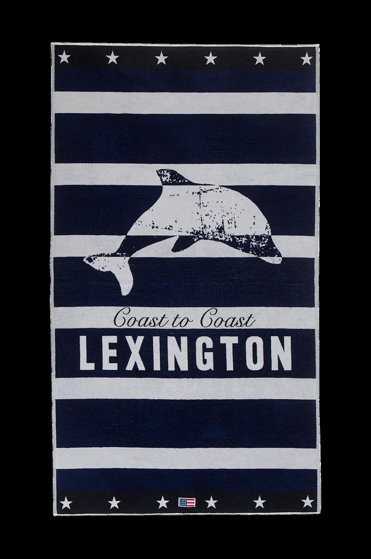 Graphic Velour Beach Towel -rantapyyhe