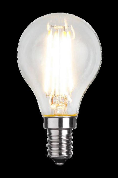 LED-lampa E14 P45 Filament