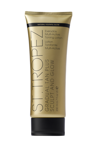 Gradual Tan Plus Sculpt & Glow Toning Lotion 200 ml