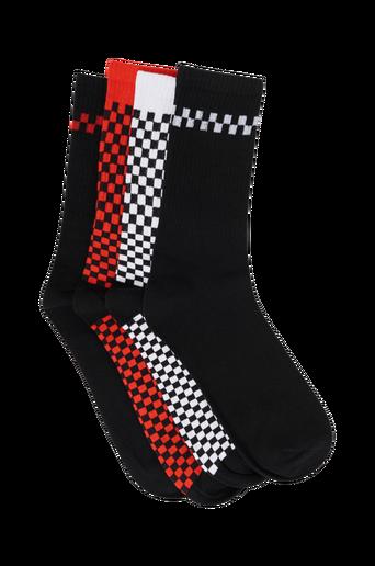 JacCheck Terry Socks -sukat, 4 paria