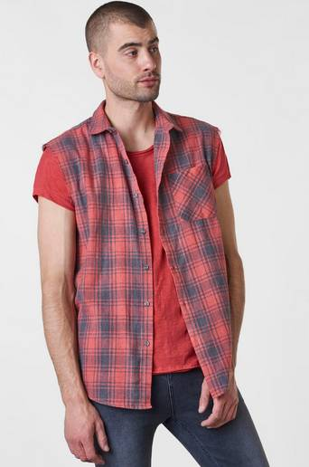 Perry Sleeveless Shirt kauluspaita