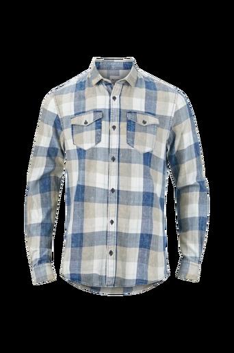 OnsCozy Reg LS Washed Check Shirt -kauluspaita