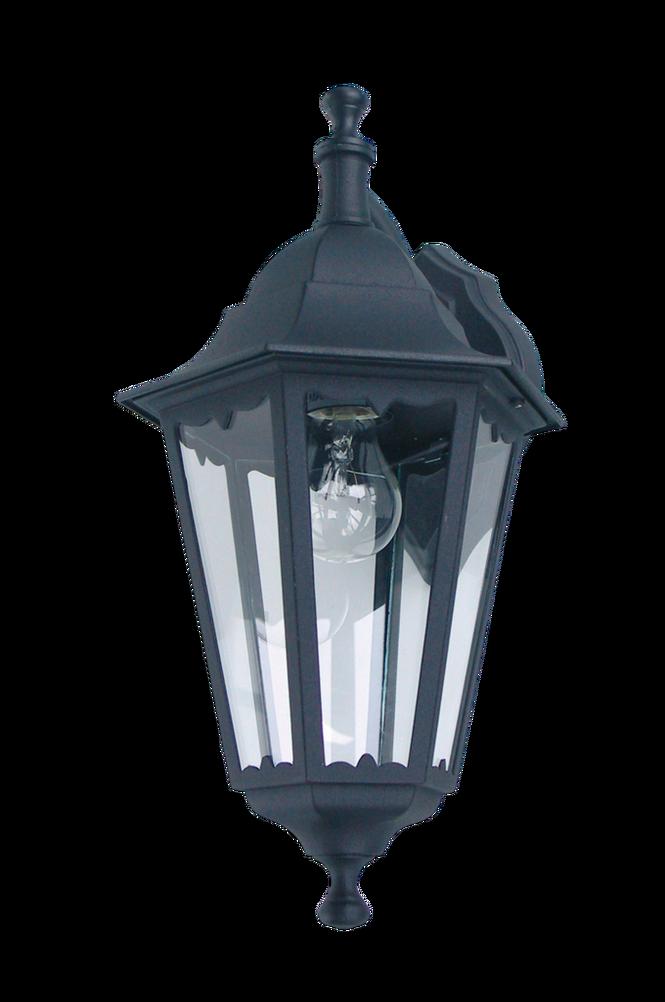 Classico Vägglampa 230V Svart