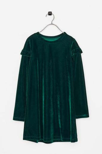 Hanna LS Dress -samettimekko